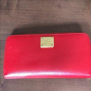 Ralph Lauren zipper wallet